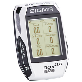 SIGMA SPORT ROX 11.0 GPS Fahrradcomputer Set weiß
